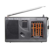 Rádio Portátil  RM-PF34 - FM/AM, 5 Faixas - MOTOBRAS -