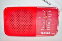 Radio Portátil Toshiba Tx Pr 20 Am/Fm Vermelho -