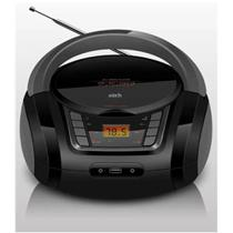 Rádio Portátil Zorh Z01AV CD Player USB SD Auxiliar MP3 FM
