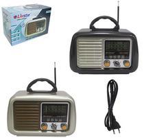 Radio Recarregavel 5w Bivolt Bluetooth Usb Fm Am Sw Tf - Dynasty
