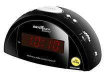 Rádio Relógio AM/FM Alarme Display Função Soneca - BS67 - Britânia