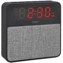 Radio Relógio Bluetooth Wake Cinza Cs100 - Oex -