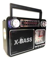 Rádio Relógio Com Lanterna Altomex A-135T -