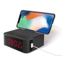 Rádio Relógio Despertador Bluetooth Caixa De Som Mp3 Usb - Irm