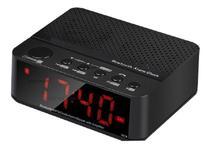 Rádio Relógio Despertador Digital Fm Bluetooth  Lelong-674 - Macktub