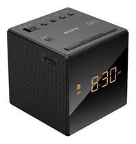 Rádio Relógio Despertador Sony AM FM Alarme Soneca 220V -