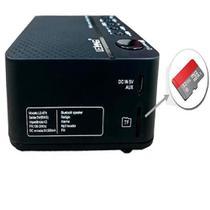 Rádio Relógio Digital Despertador Bluetooth Lelong LE-674 Am/Fm -