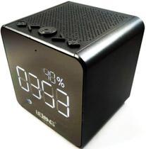 Rádio Relógio FM Despertador Display Digital Bluetooth USB - Lelong Le-673 -