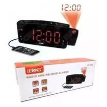 Rádio relógio lelong le-672 -