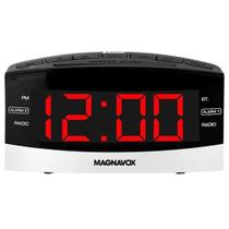 Rádio Relógio Magnavox Am Fm Bluetooth Bivolt Tela Grande -