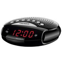 Radio Relogio Mondial Digital RR-03 AM/FM - Preto -