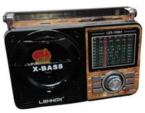 Rádio Retro Am e Fm Pendrive Lanterna 1088 Altomex Portatil -