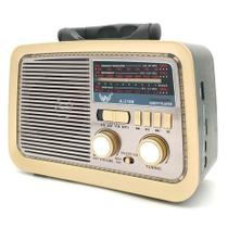 Radio Retro Antigo Vintage Altomex Fm Am Usb Sd Mp3 USB Cartão de Memoria -
