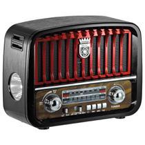 Radio Retrô Bluetooth Am Fm Entrada Usb Cartão Sd - Inova