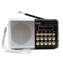 Radio retro bluetooth digital fm usb sd portatil recarregavel - Gimp