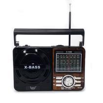 Radio Retro Usb Sd Radio Am Fm Portátil Bivolt - Altomex