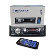 Rádio Rs2606Br Bluetooth/Sd/USB/Fm Controle Remoto Roadstar -