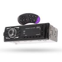 Rádio Som Automotivo Bluetooth Aparelho Controle Volante Usb - K-Nup