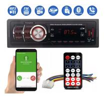 Radio Som Automotivo Mp3 Usb SD Bluetooth Controle Remoto - First Option