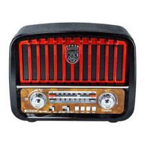 Radio Vintage Antigo Retro J108 Altomex Fm Am Pen Drive Usb -