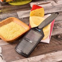 Ralador com Dispenser Cut Fine Plus KitchenIQ Cinza -
