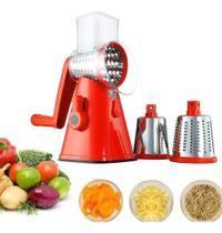 Ralador Cortador Fatiador Legumes Verduras Frutas Queijos - 123 Utilidades