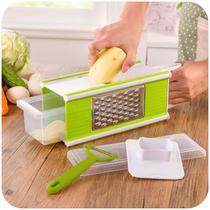 Ralador Fatiador Multiuso Alimentos Cortador Descascador Legumes - Ideal