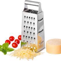 Ralador Inox 4 Faces cortador de legumes queijos e frios - Original