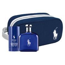 Ralph Lauren Polo Blue Kit  Perfume Masculino EDT + Desodorante Masculino Stick -