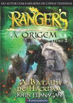 Rangers - a origem 02 - a batalha de hackham - Editora fundamento educacional ltda