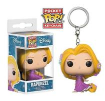 Rapunzel - Disney - Chaveiro Pocket Pop!  Funko -