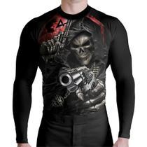 Rash Guard Skull Atirador Prot Térmica - Atlética Esportes