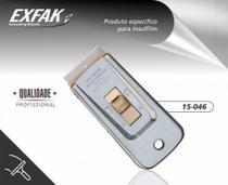 Raspador de vidro metalico 15-046 exfak -