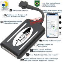 Rastreador Veicular Gps caldeiraTECH Blackshark - Sem Mensalidade -