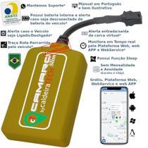 Rastreador Veicular GPS caldeiraTECH Camaro - Sem Mensalidade -