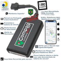 Rastreador Veicular GPS caldeiraTECH Compaq - Sem Mensalidade -