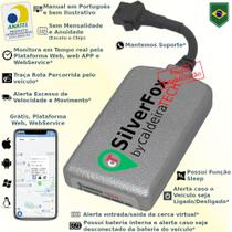 Rastreador Veicular GPS caldeiraTECH SilverFox - Sem Mensalidade -