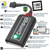 Rastreador Veicular GPS Compaq - Sem Mensalidade - Caldeiratech