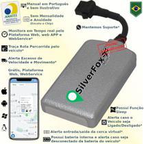 Rastreador Veicular GPS SilverFox - Sem Mensalidade -