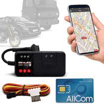 Rastreador Veicular Universal Bloqueador Shutt Mini + Plano Vivo Anual + APP Essential Android e IOS -