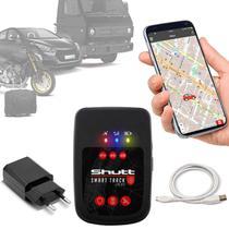 Rastreador Veicular Universal Portátil Shutt Plus Carro Moto Bagagens + APP Essential Android IOS -