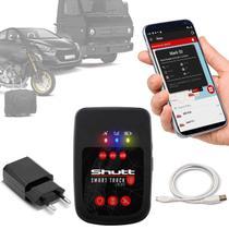 Rastreador Veicular Universal Portátil Shutt Plus Carro Moto Bagagens + APP Master Android IOS -