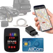 Rastreador Veicular Universal Portátil Shutt Plus + Plano Vivo Anual + APP Essential Android IOS -
