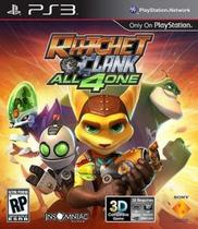Ratchet E Clank All 4 One Ps3 Mídia Física Original Novo - Sony
