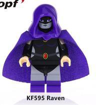 Raven - DC Comics - Minifigura De Montar - Aliança Geek