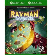 Rayman Legends Xbox One e 360 Mídia Física Novo Lacrado - Ubisoft