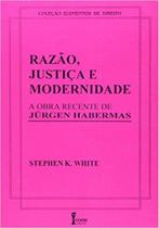 Razão, Justiça, Modernidade-A Recente Obra de Jurgen Habermas - Ícone