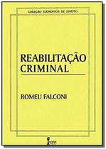 Reabilitacao criminal - Icone -