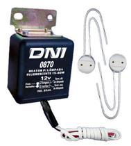 Reator para fluorescentes 12v - eletrônico - dni -