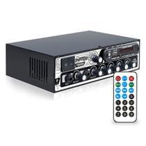 Receiver Bluetooth Boog Mx2000 Bt Usb Sd 300w Rms 2 Canais -